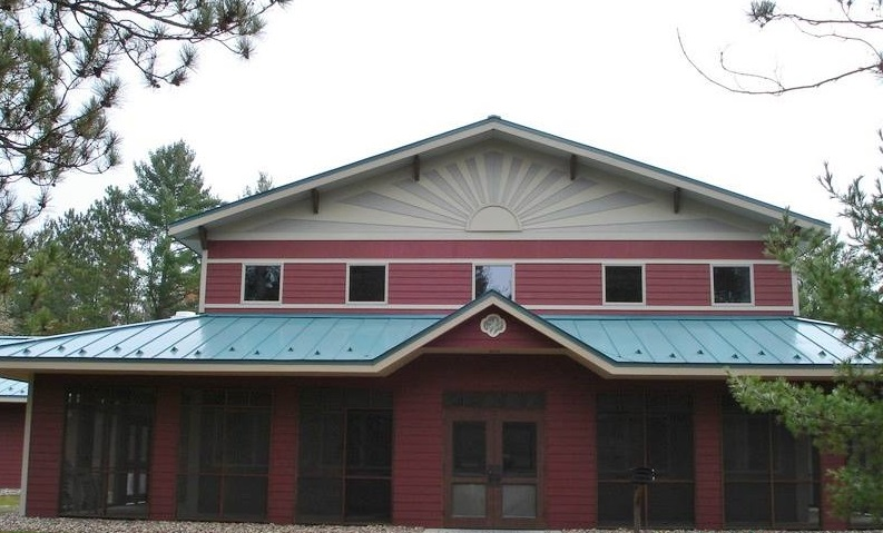 standing seam sheet metal roofing blue commercial wisconsin minnesota iowa illinois north dakota