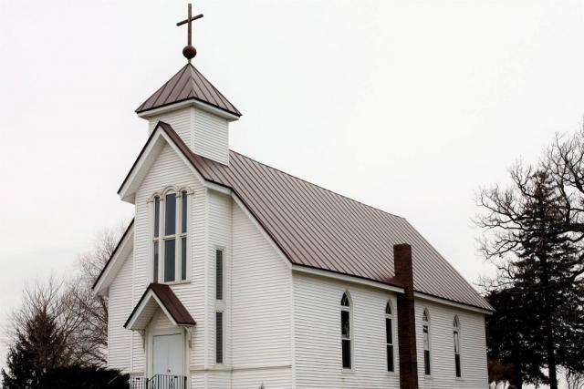 standing seam sheet metal roofing dark brown church commercial wisconsin minnesota iowa illinois north dakota
