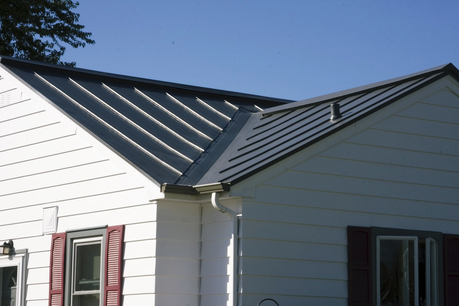 metal roofing grey charcoal