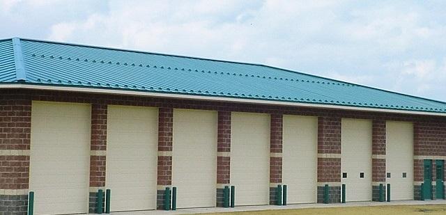 standing seam sheet metal roofing commercial blue green teal wisconsin minnesota illinois iowa north dakota