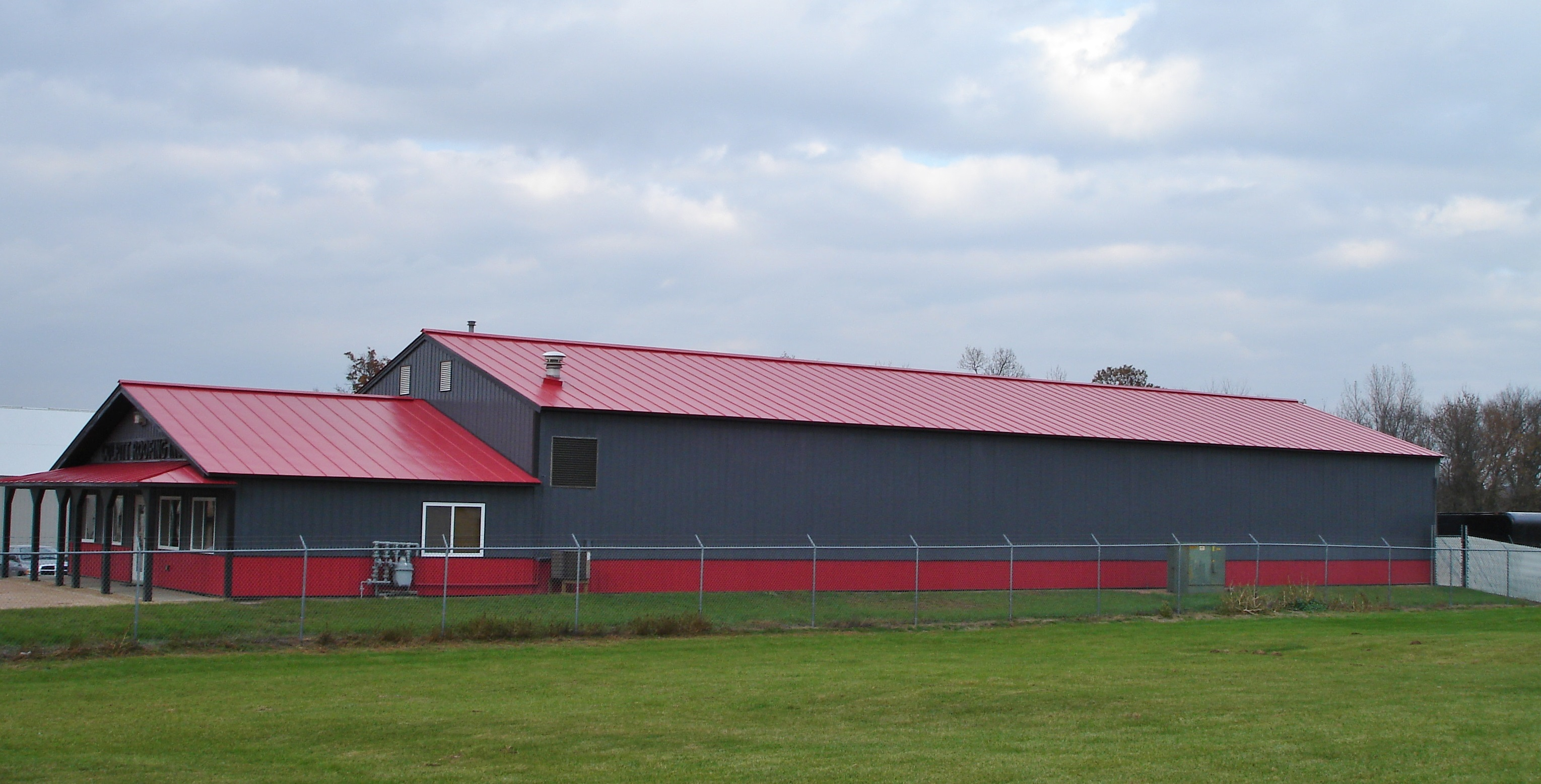 standing seam sheet metal roofing red commercial wisconsin minnesota iowa illinois north dakota