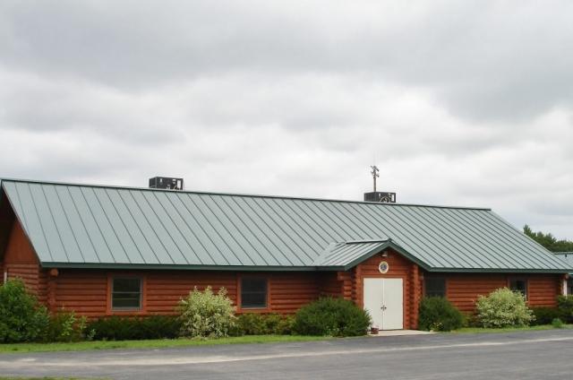 standing seam sheet metal roofing commercial green dark wisconsin minnesota iowa illinois north dakota